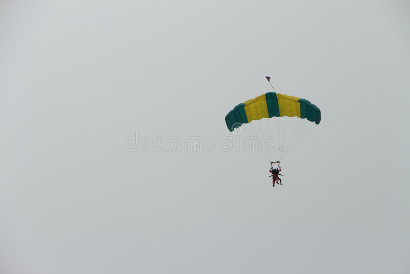 parachutists immagini stock libere da diritti