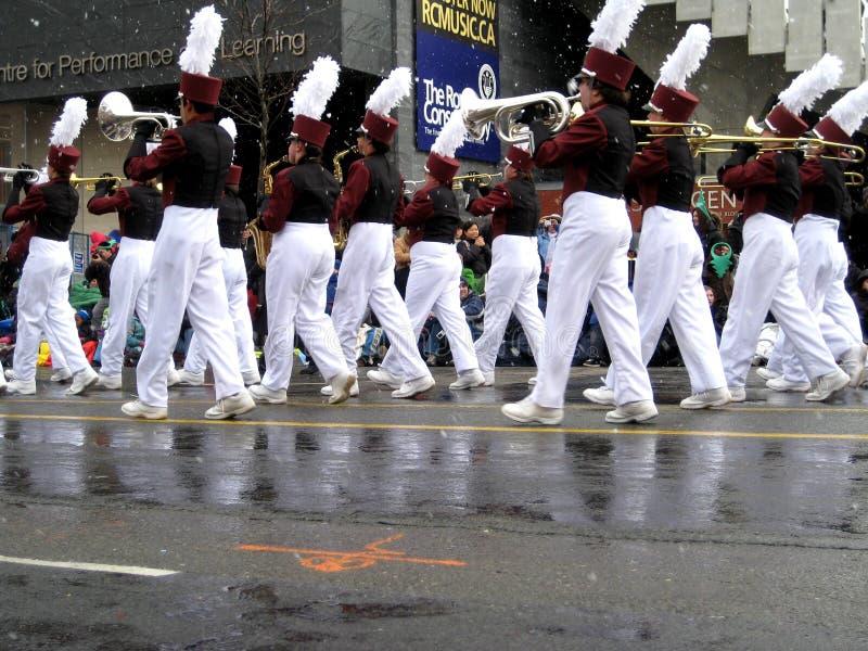 Parada 2008 de Papai Noel, Toronto imagem de stock royalty free