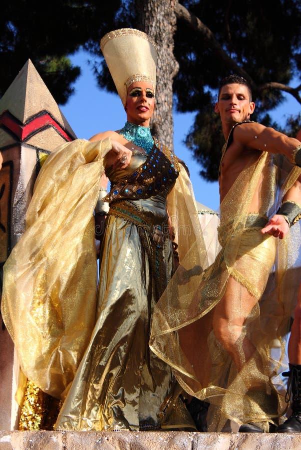 Parada 2011 do orgulho de Roma euro- imagem de stock royalty free