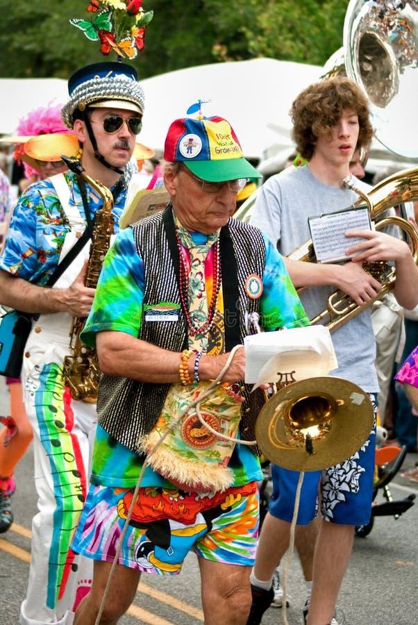 Parada Atlanta Geórgia do festival de mola do parque de Inman fotos de stock royalty free