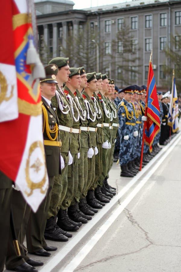 Parada cerimonial foto de stock