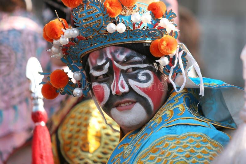 Parada chinesa do ano novo, em Paris, France fotos de stock royalty free