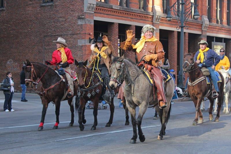 Parada conservada em estoque ocidental nacional da mostra imagens de stock royalty free