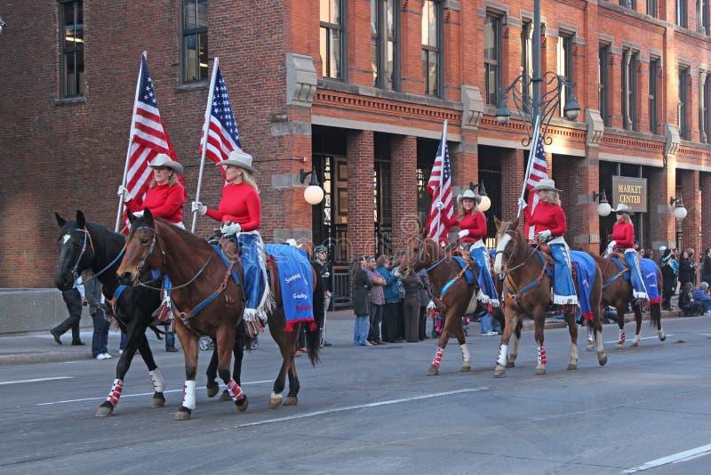 Parada conservada em estoque ocidental nacional da mostra fotografia de stock royalty free