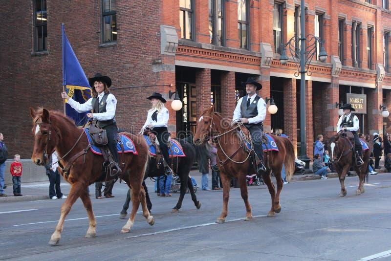 Parada conservada em estoque ocidental nacional da mostra fotos de stock royalty free