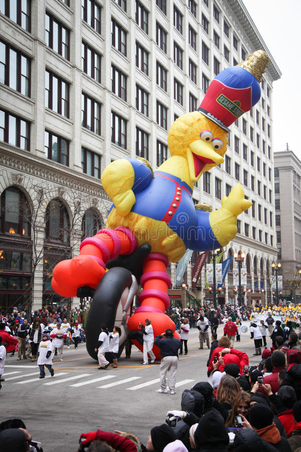 Parada da acção de graças de Chicago imagem de stock royalty free