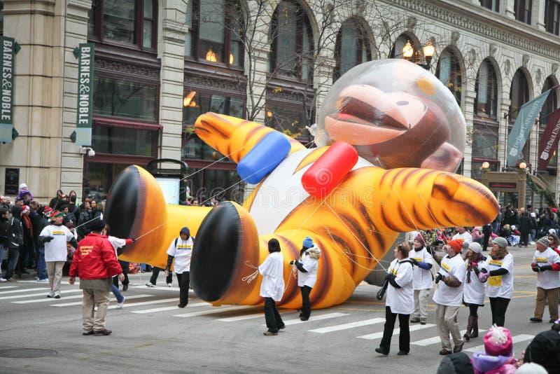 Parada da acção de graças de Chicago foto de stock royalty free