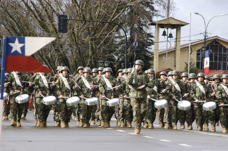 Parada da faixa militar fotos de stock