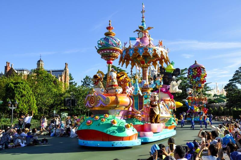 Parada de Disneylândia fotografia de stock