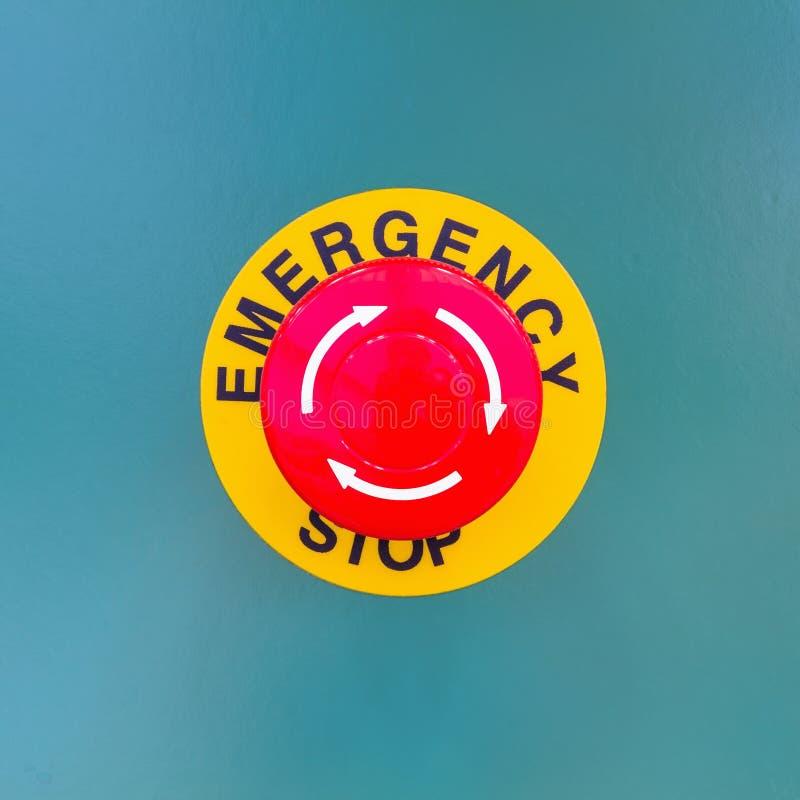Parada de emergencia fotografía de archivo