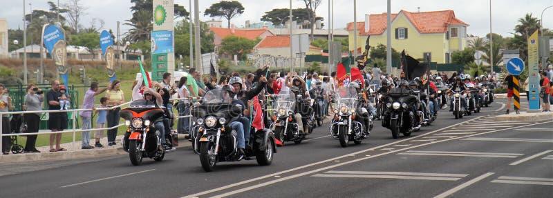 Parada de Harley Davidson fotos de stock royalty free