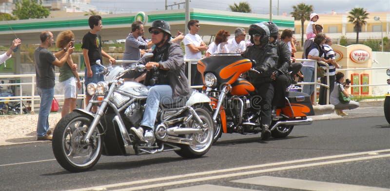 Parada de Harley Davidson imagem de stock royalty free