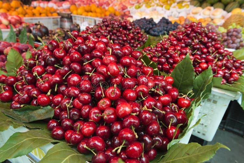 Parada de las frutas imagen de archivo