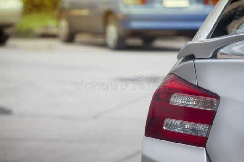 Parada de los vehículos en estacionamiento imágenes de archivo libres de regalías