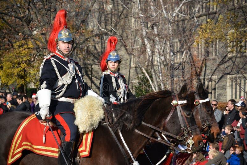 Parada de Papai Noel de Toronto 108th fotografia de stock royalty free