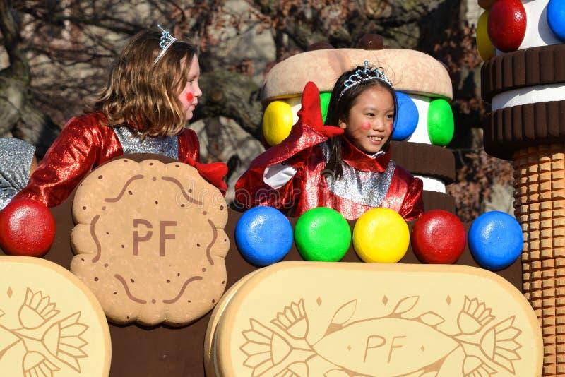 Parada de Papai Noel de Toronto 108th fotografia de stock