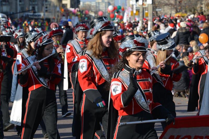 Parada de Papai Noel de Toronto 108th fotos de stock royalty free
