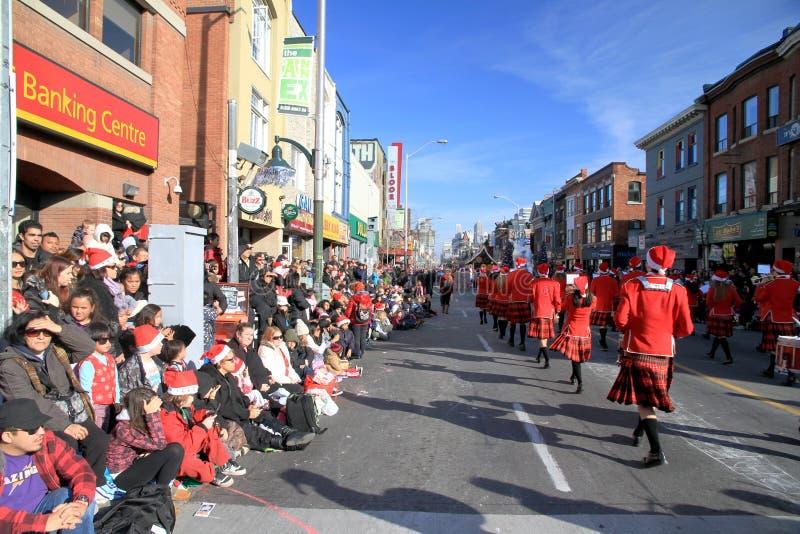 Parada de Toronto Papai Noel fotos de stock