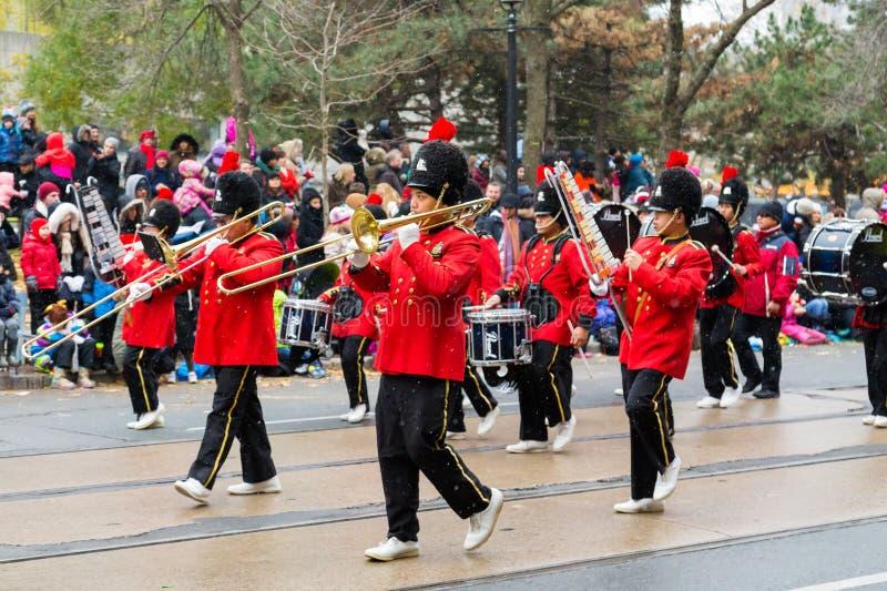 Parada de Toronto Papai Noel imagens de stock