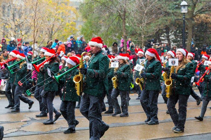 Parada de Toronto Papai Noel foto de stock royalty free