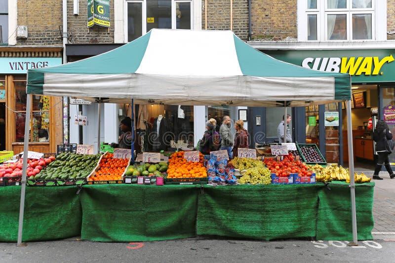 Parada del mercado callejero foto de archivo