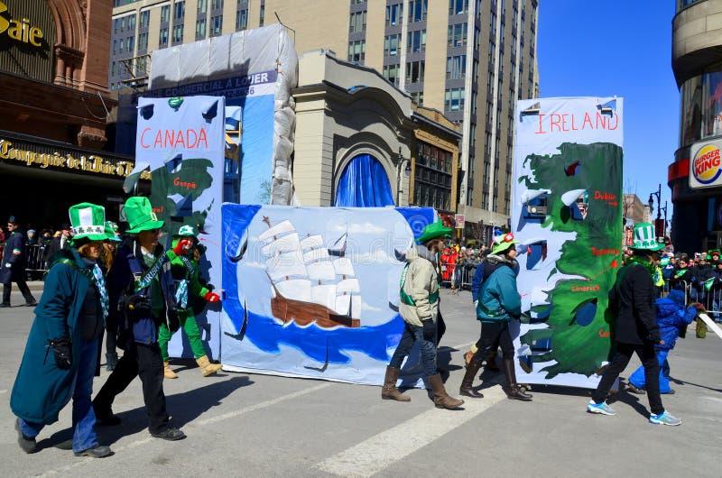Parada do dia de St Patrick fotografia de stock royalty free