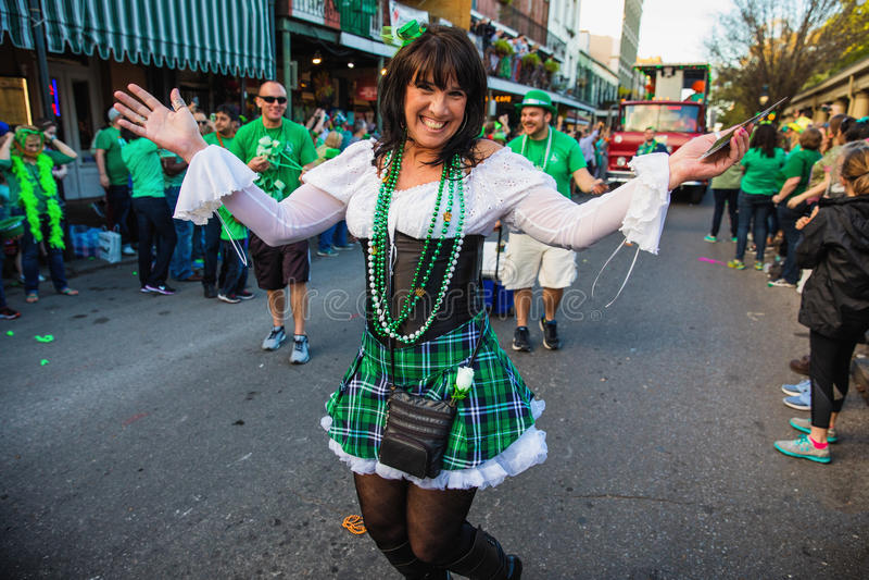 Parada do dia do ` s de St Patrick imagens de stock royalty free