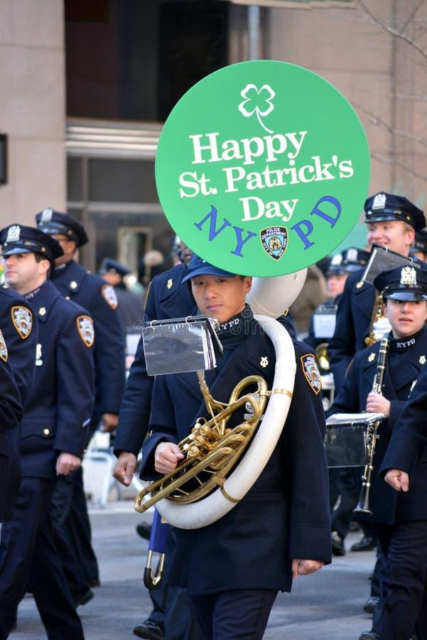 Parada do dia do ` s de St Patrick imagens de stock