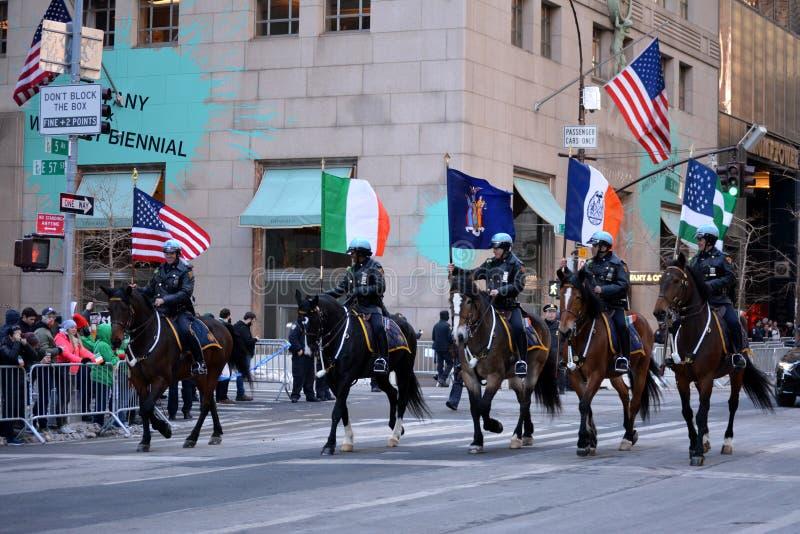 Parada do dia do ` s de St Patrick fotos de stock
