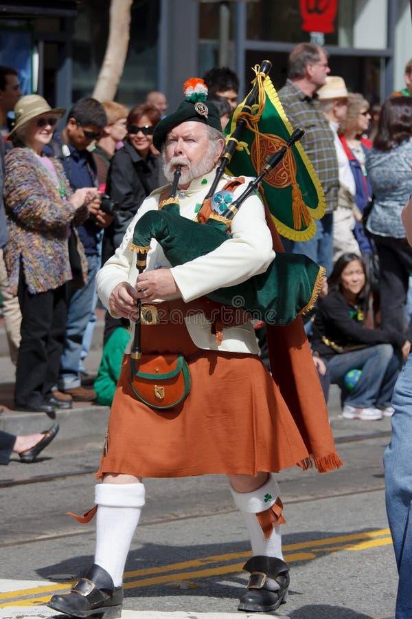 Parada do dia do St. Patric fotografia de stock royalty free