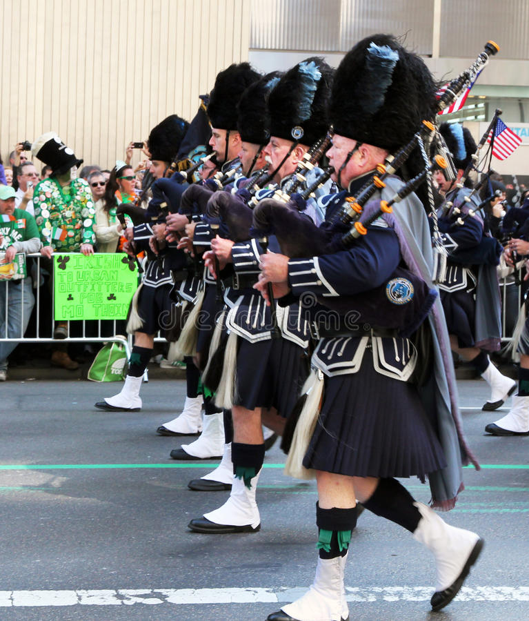 Parada do dia do St. Patrick imagens de stock