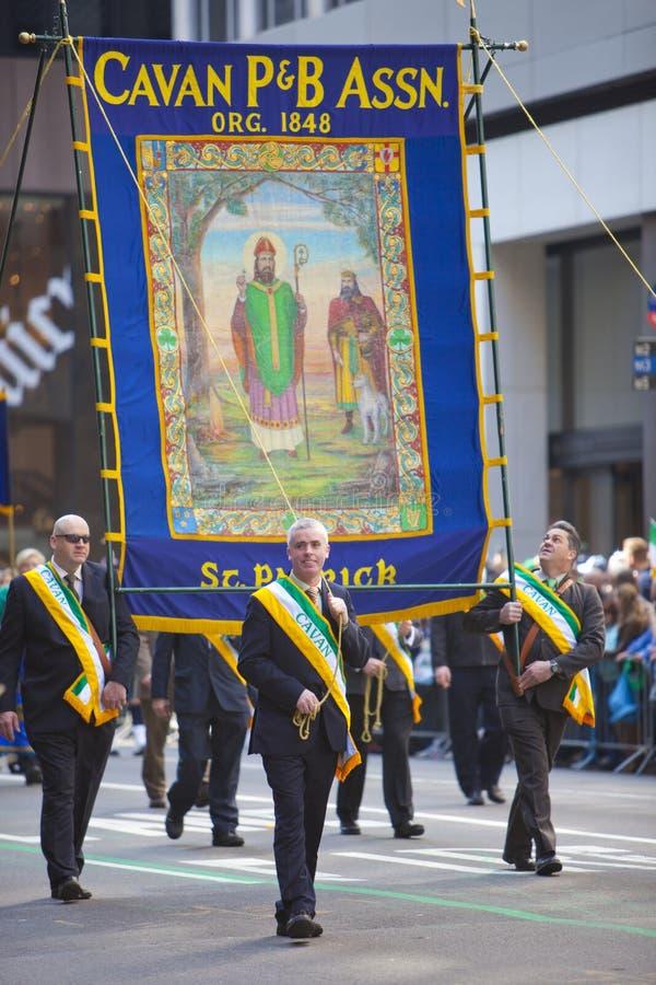 Parada do dia do St. Patrick fotos de stock royalty free