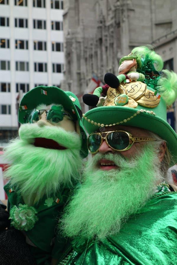 Parada do dia do St Patricks imagem de stock royalty free