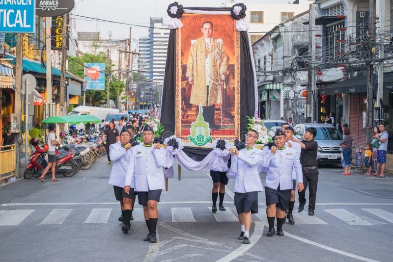 Parada do 18o Ano Novo chinês de Phuket e da cidade velha F de Phuket fotos de stock royalty free