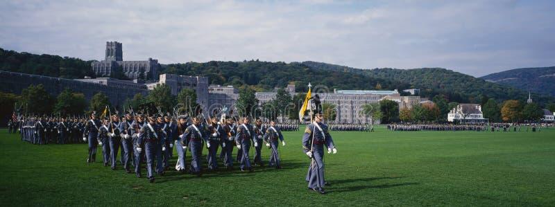 Parada do regresso a casa dos cadete fotografia de stock