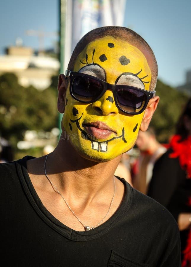 Parada do traje de Purim imagens de stock royalty free