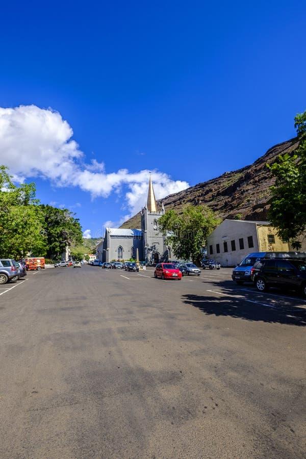 Parada grande Jamestown St Helena imagem de stock