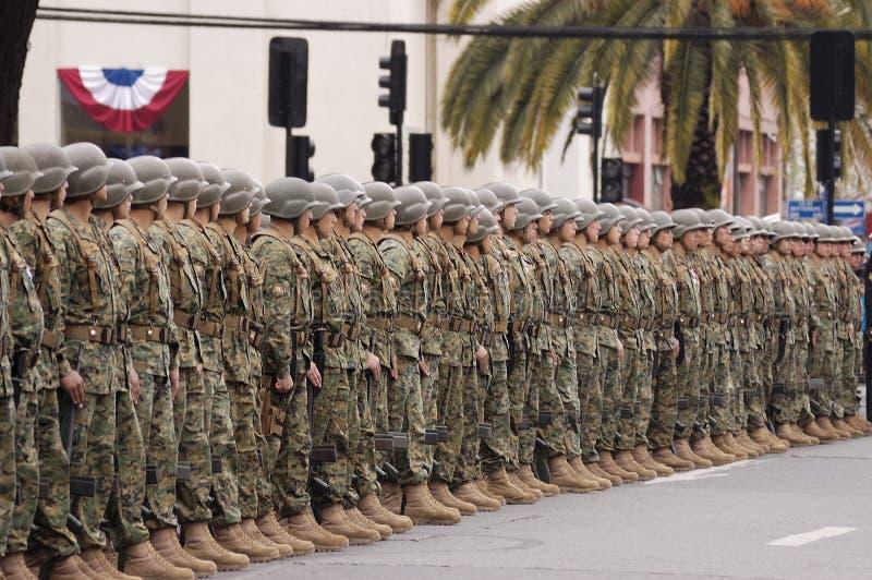 Parada militar foto de stock royalty free