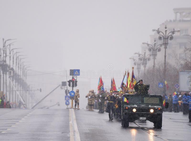 Parada militar imagem de stock