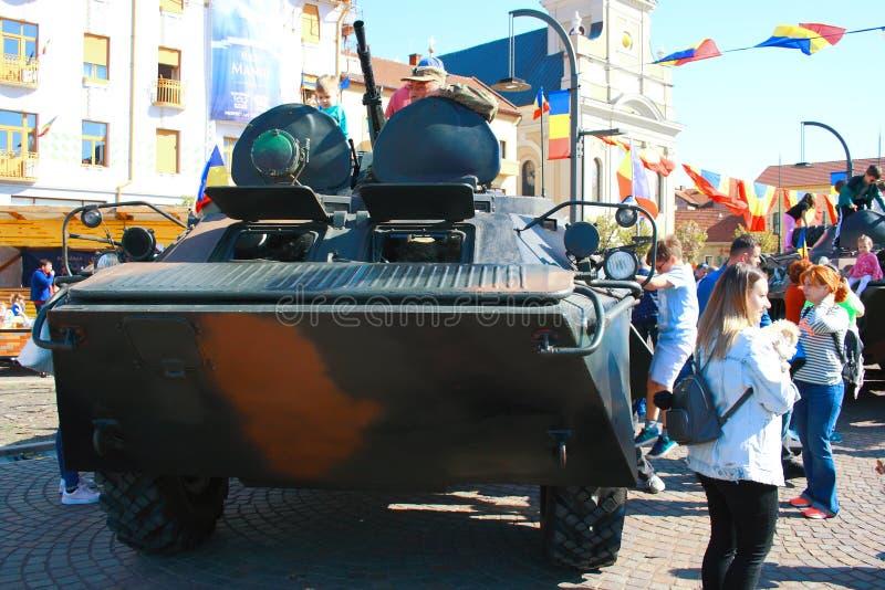 Parada militar Oradea Mare Centenary 2019 foto de stock royalty free