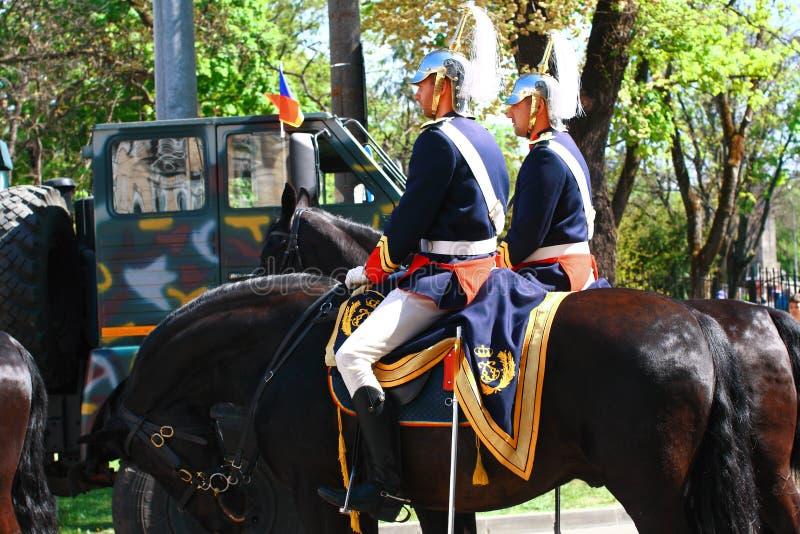 Parada militar Oradea Mare Centenary 2019 imagens de stock