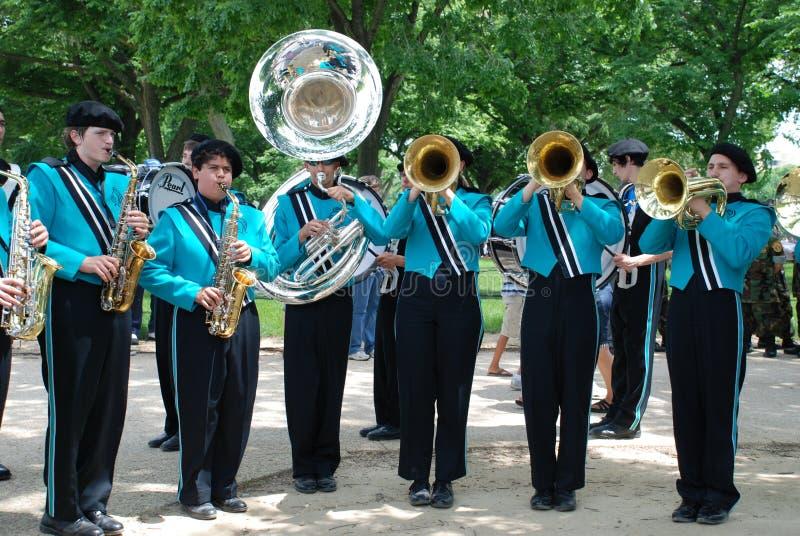 Parada nacional do Memorial Day fotografia de stock