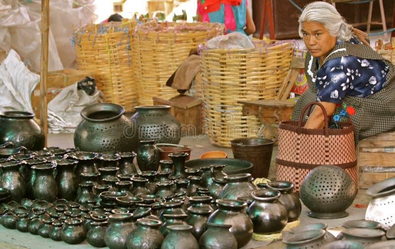 Parada negra de la cerámica imagen de archivo libre de regalías