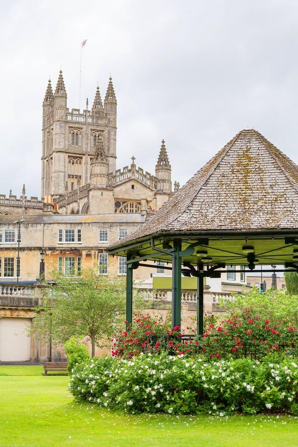 Parada ogródy. Skąpanie, Anglia fotografia royalty free