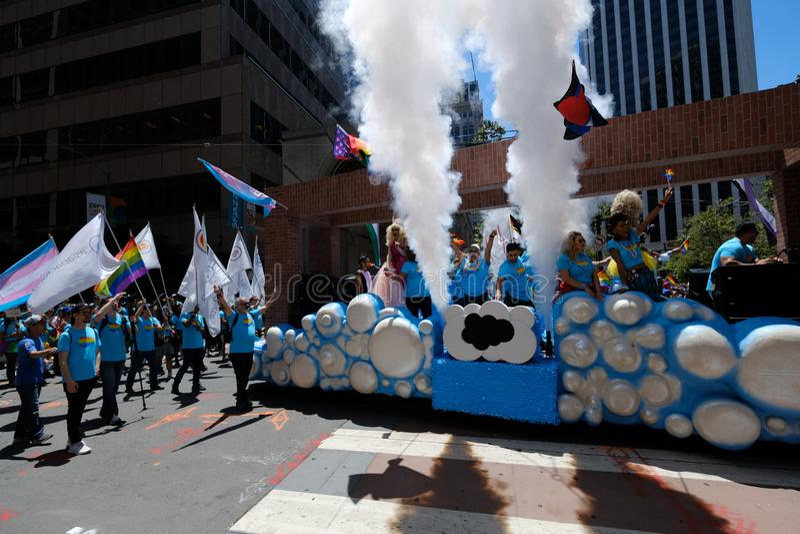 Parada Pride San Francisco 2019 zdjęcie stock