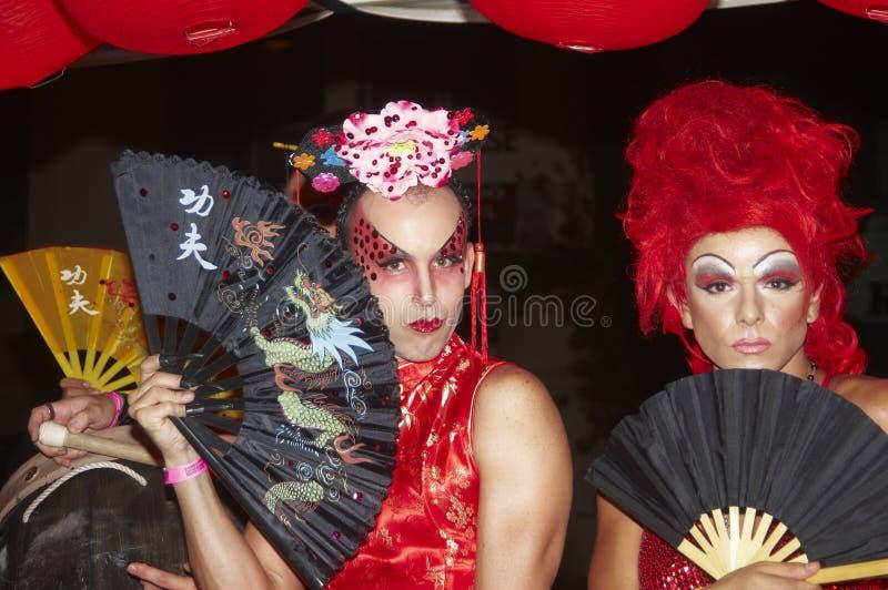 Parada Sydney do carnaval fotos de stock