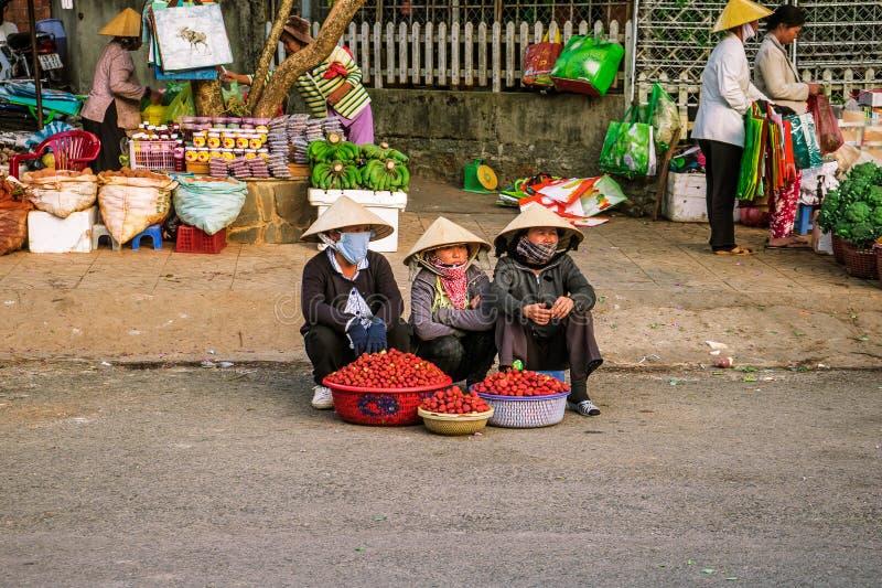 Paradas de calle de la fresa imagen de archivo libre de regalías