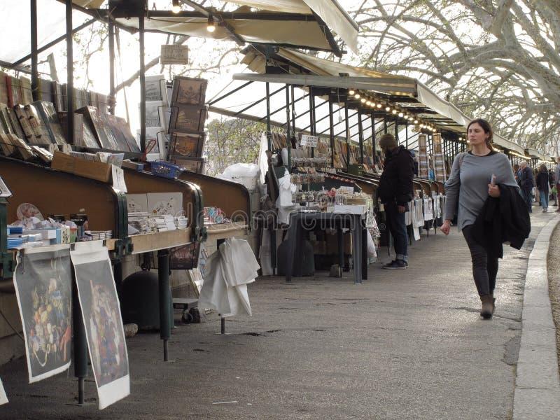 Paradas del mercado en Roma foto de archivo