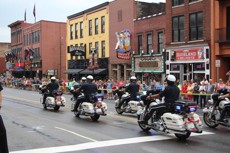 Download Parade On Broadway In Nashville, Tennessee Editorial Stock Image - Image: 32031119