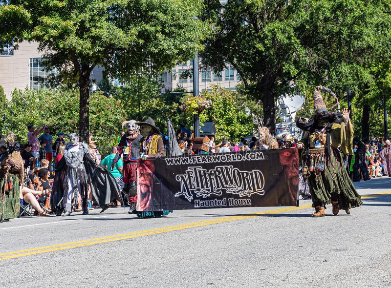 Parade DragonCon 2019 à Atlanta photo libre de droits